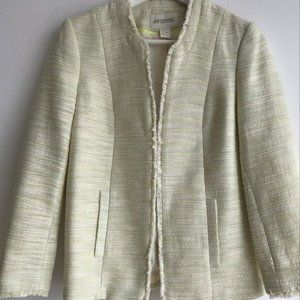 H&M Conscious Collection Soft Colors Tweed Jacket